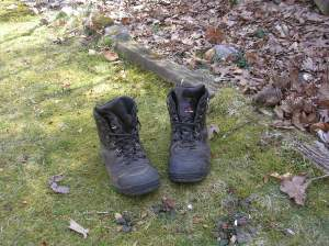 My Garmont hiking boots