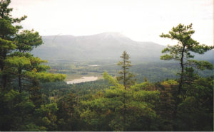 View from Sentinel Mountain, Baxter State Park, Maine