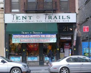 Tent & Trails, Park Place, New York