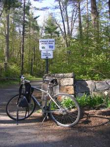 Norwalk Valley River Trail in Wilton CT