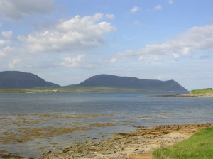 Mountains of Hoy from Stromness, Orkney