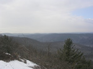 View from Cobble Mountain, Macedonia Brook State Park, CT