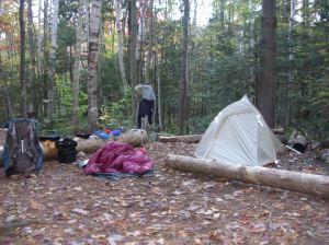 Camping Pemigewasset Wilderness