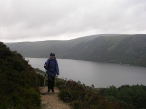 Trail to Lochnagar above Loch Muick