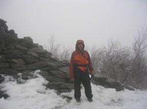 Bert on Bear Mountain