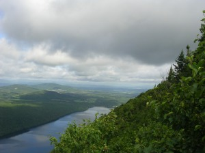 Lake Willoughby from Mt Pisgah, Westmore, Vermont