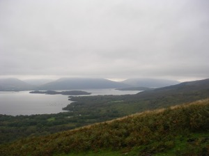 Day 27 - Loch Lomond from Conic Hill, the Highland-Lowland boundary.