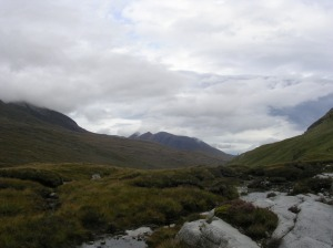 "Day Eight - An Teallach from near Loch an Nid, the ""Great Wilderness""."