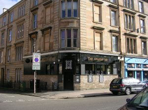 The Arlington bar, Woodlands Road, Glasgow's West End.