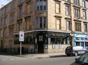 The Arlington bar, Woodlands Road, Glasgow's West End.