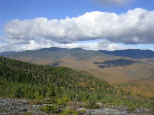 Wild River Wilderness, NH, from North Baldface mountain.