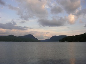 Mount Pisgah (left) and Lake Willoughby, Northeast Kingdom of Vermont