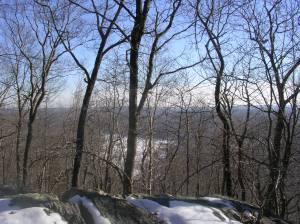 Bennett Ponds from Pine Mountain, Ridgefield CT