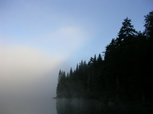 Morning on Brooktrout Lake, West Canada Lake Wilderness, Adirondacks