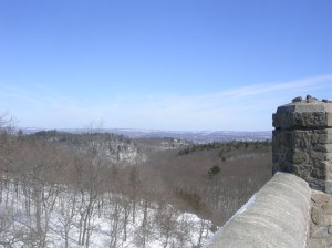 Looking east / southeast from the Sleeping Giant tower.