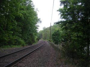 Crossing the Danbury Line, Redding