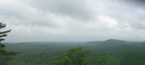 The view from Pine Mountain Lookout