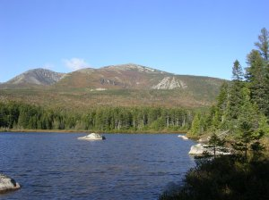 Whidden Ponds, Baxter State Park, September 2006