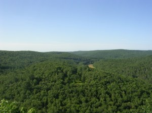The Shepaug River Valley from Steep Rock Summit