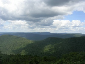 Big Indian Wilderness from Peekamoose Mountain