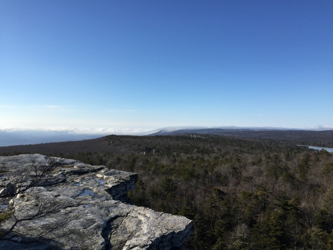 Castle Point, Minnewaska State Park