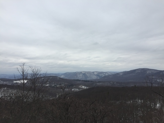 The view from Round Hill, Fahnestock State Park