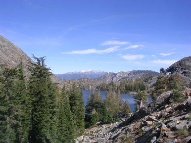 Heather Lake, Desolation Wilderness, Pacific Crest Trail