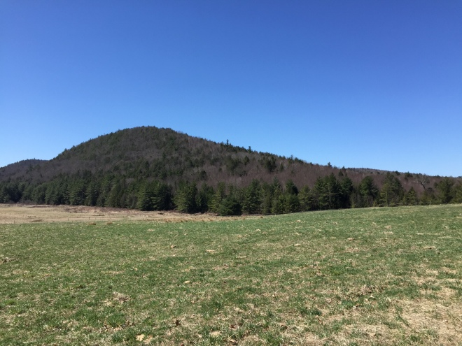 Coltsfoot Mountain from Cornwall CT