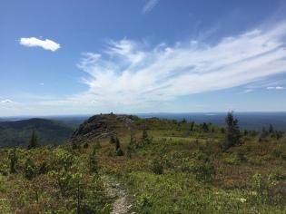 Descending from North Traveler Mountain