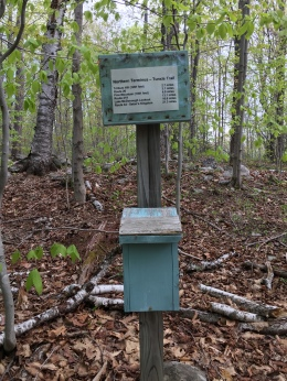 """The Tunxis Trail """"northern terminus"""" is a remote, tranquil spot"""
