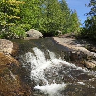 Falls on Fowler Brook