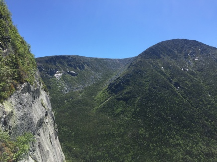 Owl cliff and, behind, Katahdin's Witherle Ravine