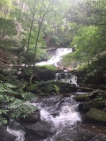 Waterfall in Dean Ravine