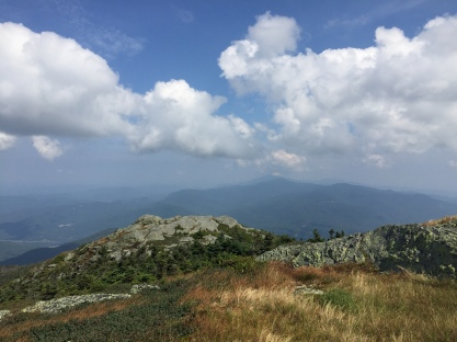 Mt Mansfield from Camel's Hump