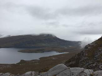 Ben Stack and Loch Stack from Arkle