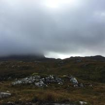 Early view of (some of) Suilven