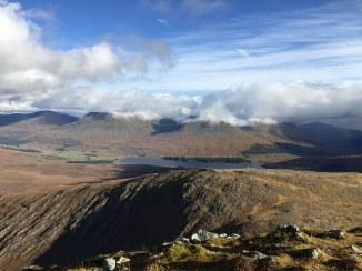 Looking SE -- Loch Tulla beyond Beinn Toaig
