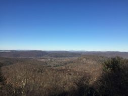 View from Cobble Mountain; Catskill Mountains in far distance