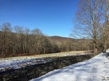 Beside Fuller Mountain Road
