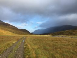 "Glen and River Affric, not far from ""basecamp"""