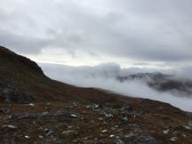 Looking across the Glen to peaks to the south