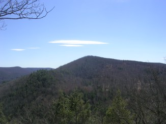 Silver Hill from Bread Loaf Mountain -- almost done