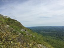 East-facing Mount Race escarpment