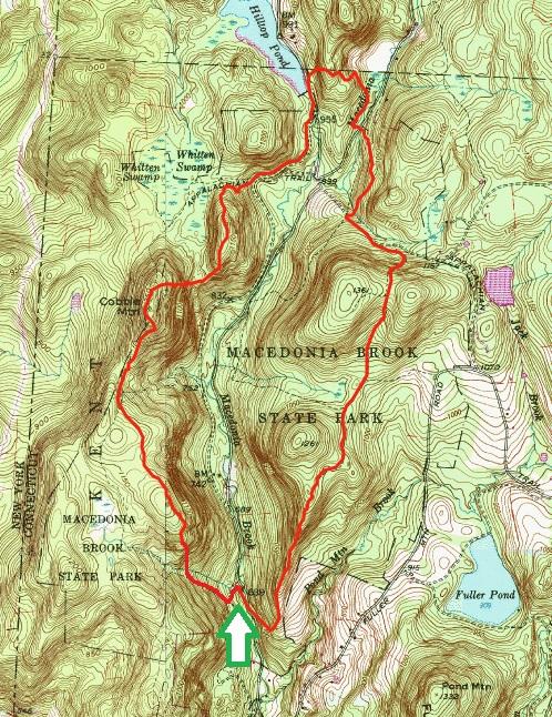 Macedonia Brook Loop