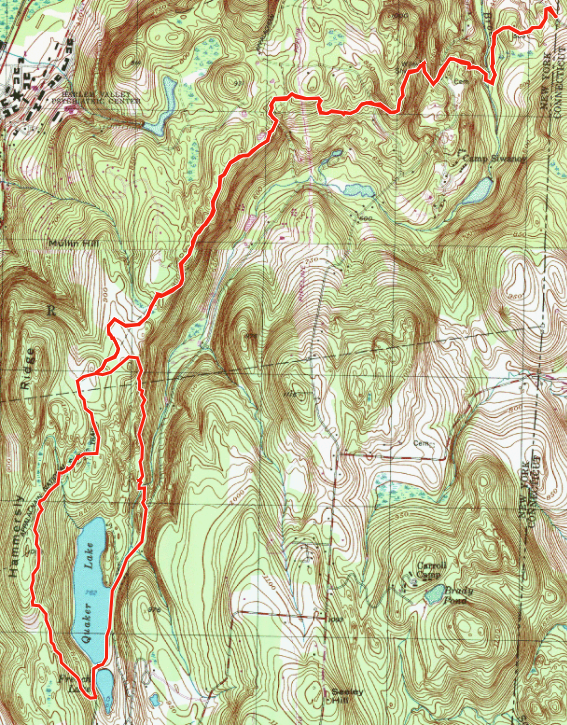 Gaia GPS Route