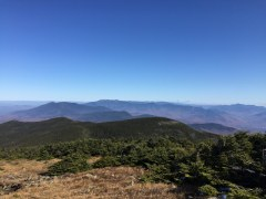 Moosilauke summit - Franconia and Presidentials again