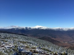 Mount Washington and the Presidential Range from Mount Hight