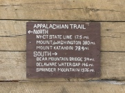 Sign on Morgan Stewart shelter