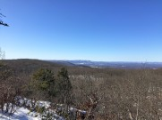 Hudson Highland ridges (center distance) from Mount Egbert