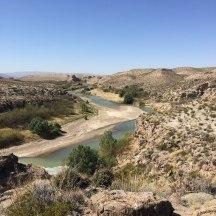 Rio Grande, coming down toward the hot springs